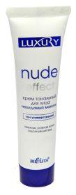 Белита Luxury Крем тональный Nude Effect невидимый макияж универсальный тон 30мл